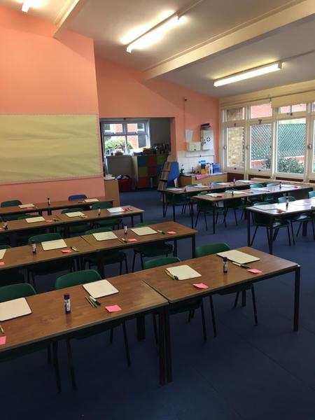 Year Four, bright and welcoming