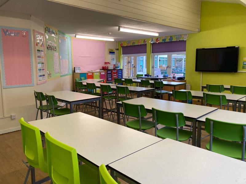 Our Year Five classroom