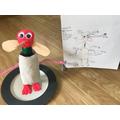 Dan's delightful and detailed Debby model!