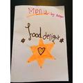 Shreya's marvellous menu