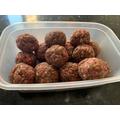 Shreya's meatballs