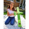 Isla's fantastic spitfire Model