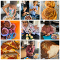 Shreya's been busy cooking