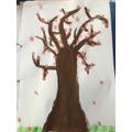 CHerry blossom art by Chloe