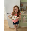 Baking with Molly and William
