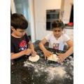 Shreya has been busy baking.