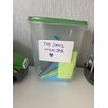 Shreya has made a dream jar!