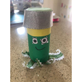 Look at this amazing toilet roll Octopus by Lola