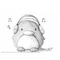 Yoshua has drawn this incredible penguin!