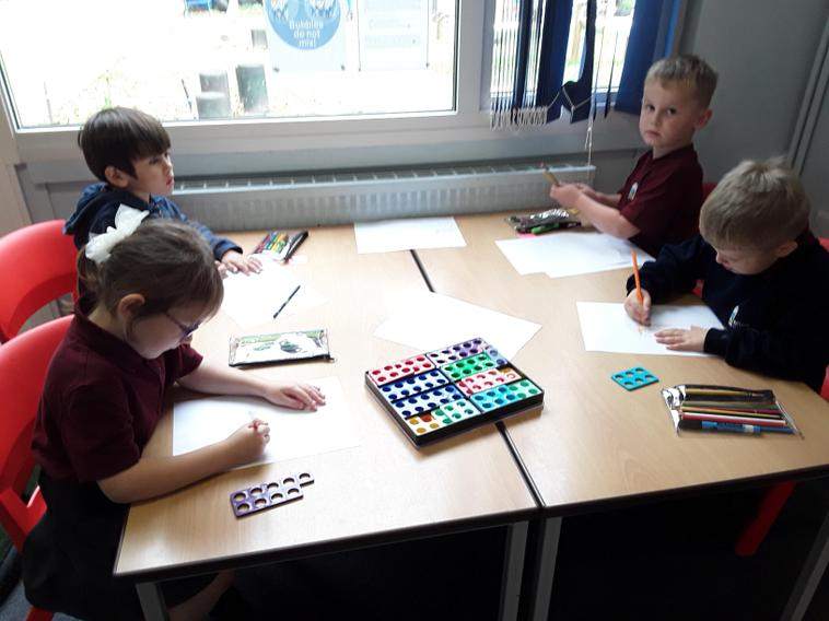Creating pictures from Numicon