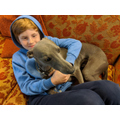 Cole with Herbert the Whippet!