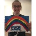 Emily's brilliant rainbow.