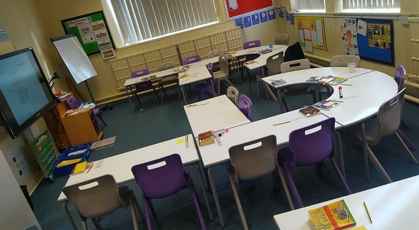 Kingfisher class has new furniture
