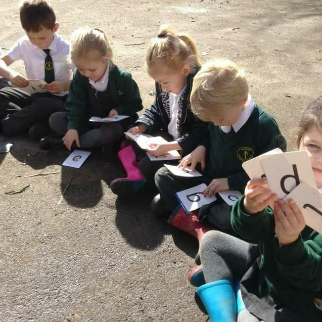 Phonics in the sun!