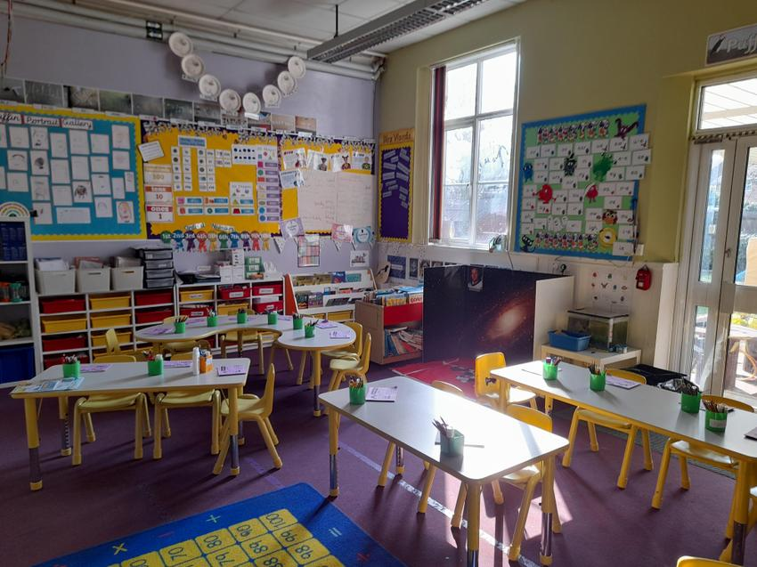 Puffin Class Room view 1