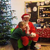 A special visitor Dec 16