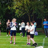Louise Wood at our sports day 2016