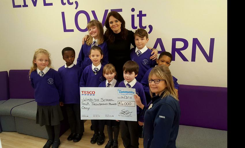 Our TESCO funding!