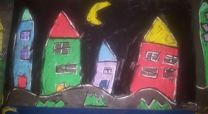 Paul Klee inspired art