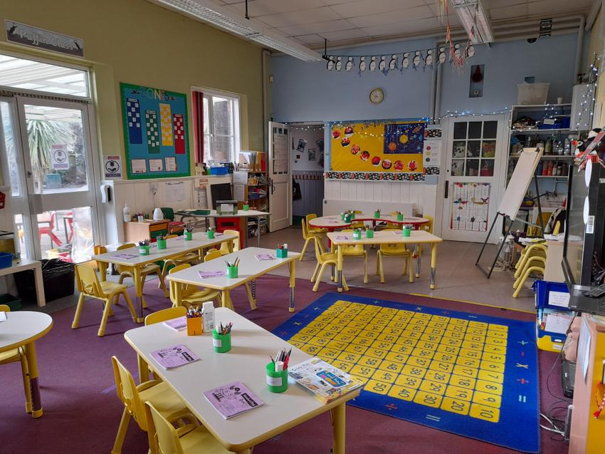Puffin Class Room view 2