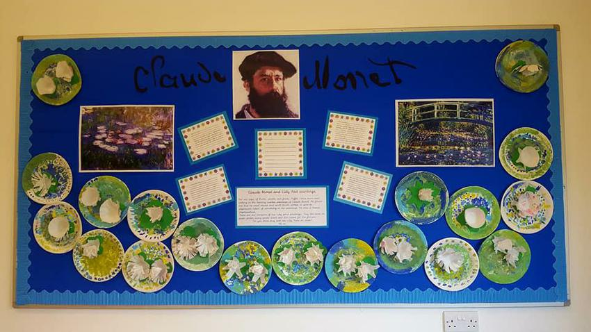 Display by Puffin Class
