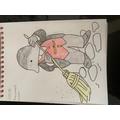 Phoebe Ch Mole Drawing
