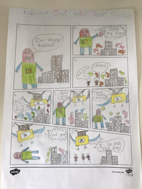 Noah's comic strip