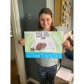 Millie's Water Vole Poster