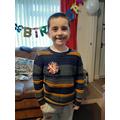 A birthday boy!