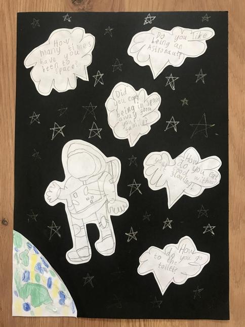 Noah's Astronaut work
