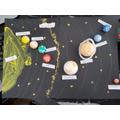 Jayden's solar system!