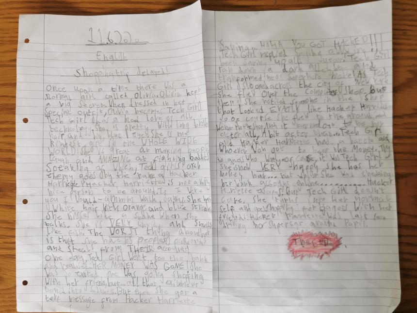 Tallulah's story