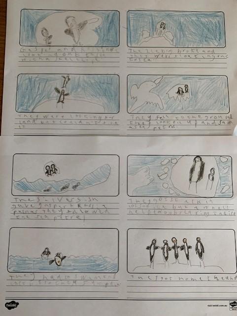 The runaway iceberg by Lucas