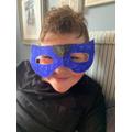Charlie's mask