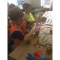 Mixing paints