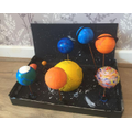 George's Solar System Model