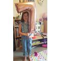 A birthday girl!