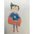 Kaylen's superhero