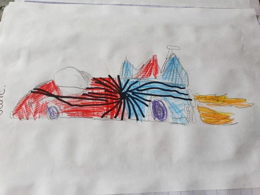 Niamh's Superhero car
