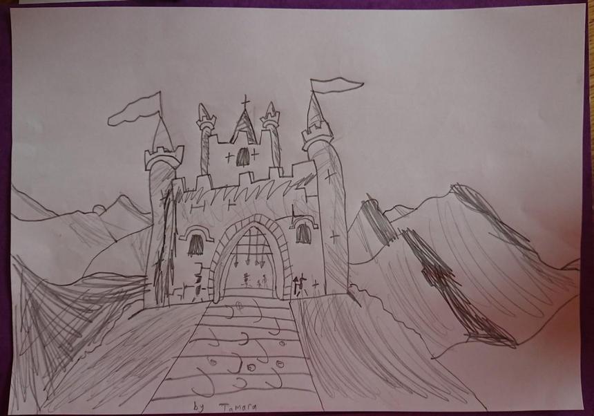 Tamara's castle drawing