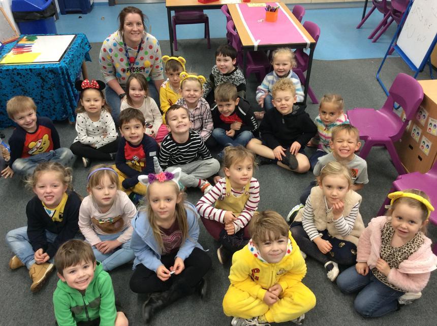 Mercury enjoyed raising money for Children in Need