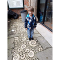 George's visit to the Lyme Regis Fossil Museum!