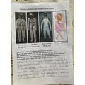 Lois explains about astronaut suits.