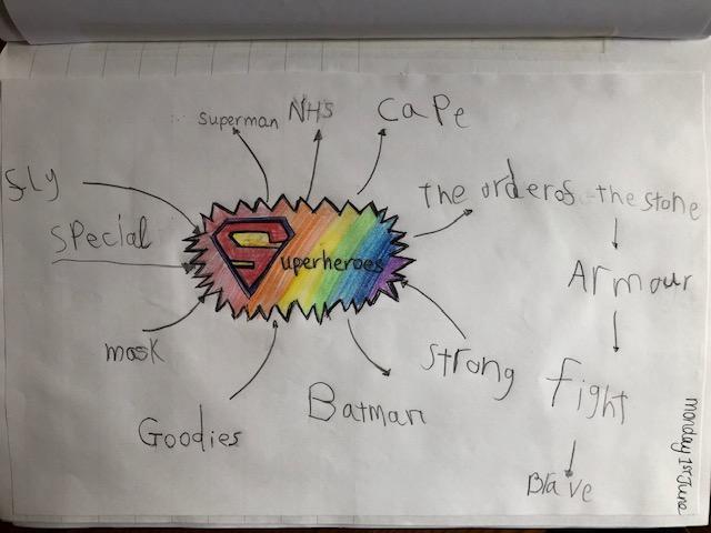 Lily's superhero work
