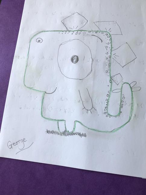 Charlie's Dinosaur called George