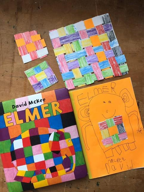 Ptolemy's new front cover for Elmer