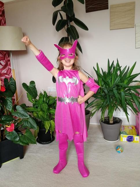 Superhero dancer