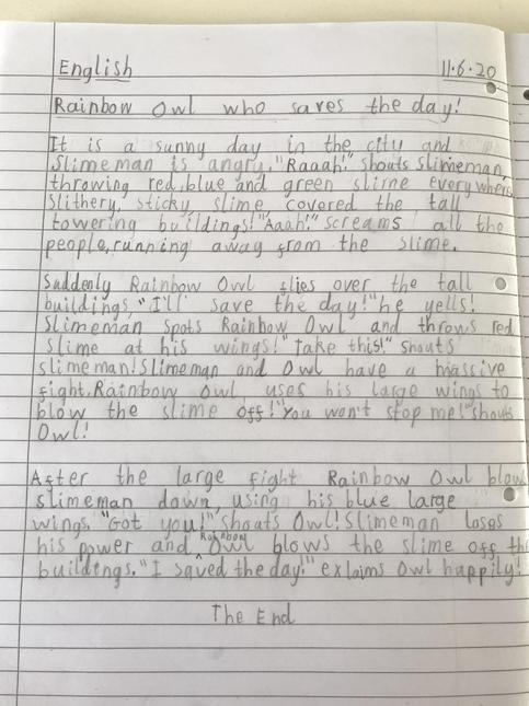 Noah's Superhero Story