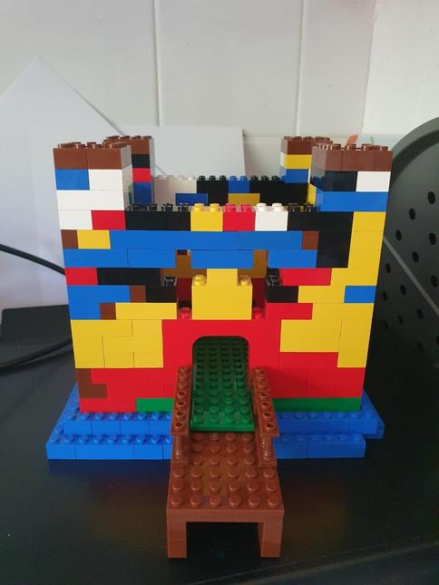 Lego Castle made by Niamh