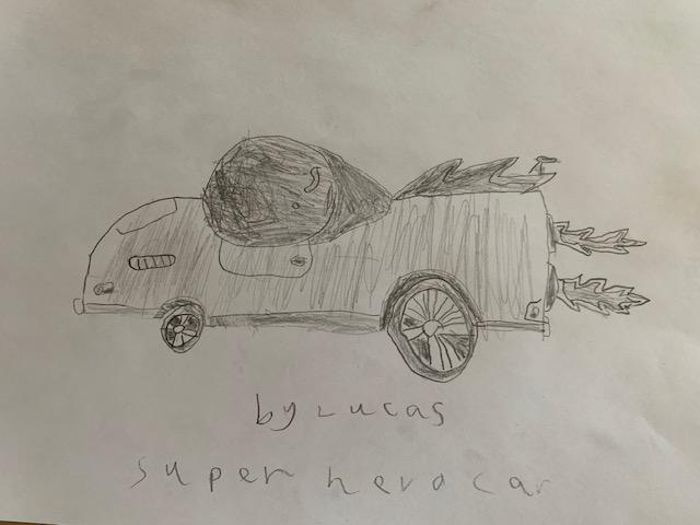 Every Superhero needs an amazing car!